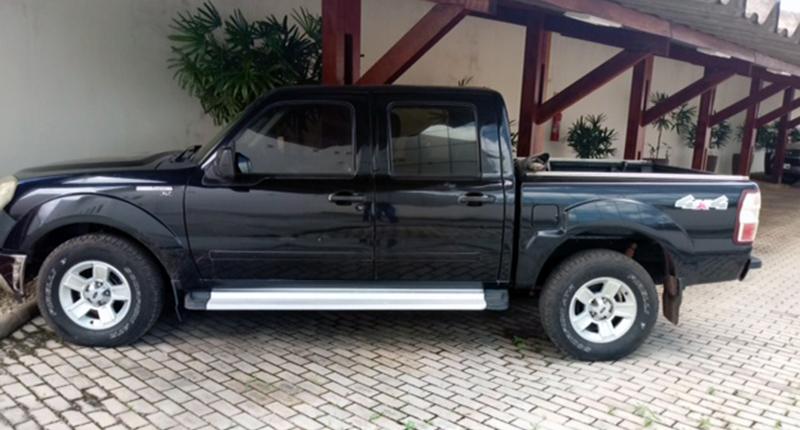 Camionete Ranger é um dos veículos que será leiloado pelo MPPA