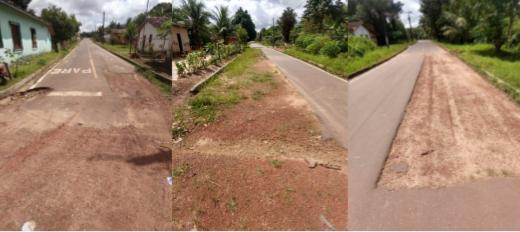 Em São João da Ponta  as obras foram realizadas, porém em alguns pontos não foi colocado o asfalto