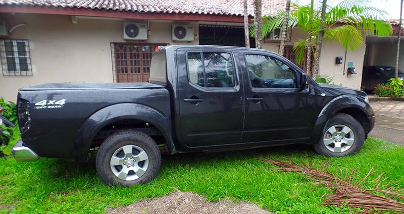 Modelo Frontier, ano 2012/2013, será leiloada com preço inicial de R$ 44,8 mil