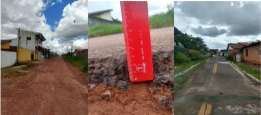 Obras executadas em Castanhal porém há pontos com falta de pavimentação ou em precárias condições