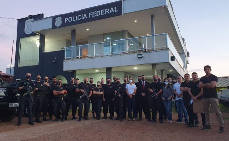 Equipes do MPPA e Polícia Federal atuaram na Operação Prenúncio
