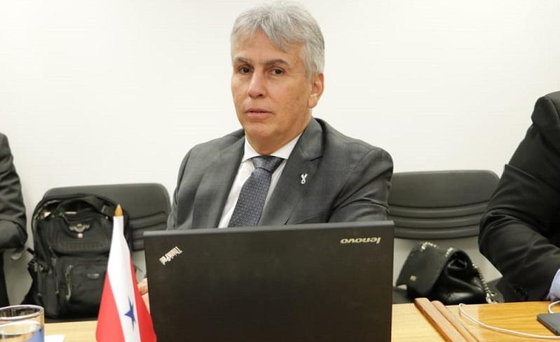 Procurador-geral Gilberto Martins cumpriu esta semana agenda institucional em Brasília